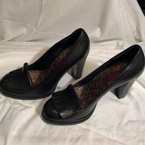 Kenzo Black Heeled Shoes - Size 6.5 (36.5)